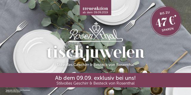 edeka strohb cker treueaktion rosenthal tischjuwelen. Black Bedroom Furniture Sets. Home Design Ideas